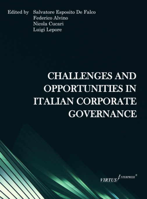 New book project: Challenges and Opportunities in Italian Corporate Governance