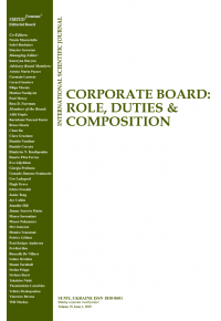 Corporate Board: Role, Duties and Composition