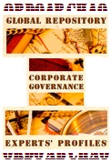 CORPORATE GOVERNANCE EXPERTS GLOBAL REPOSITORY: AN UPDATE