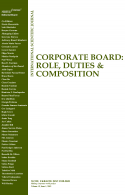 New issue of the Corporate Board: Role, Duties and Composition journal