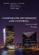 Upcoming Book Announcement - Corporate Ownership and Control: international trends