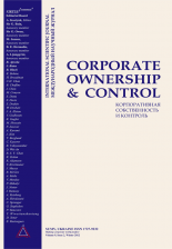 Most cited papers published in Corporate Ownership and Control Journal: Updated