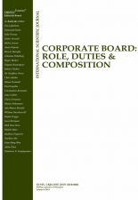 Corporate Board: Role, Duties and Composition – a call for papers