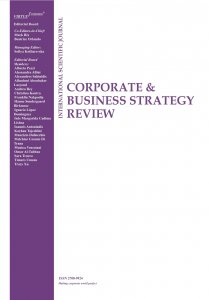 New issue of the journal Corporate & Business Strategy Review