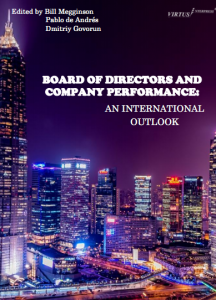 New book project - Board of directors and company performance: An international outlook